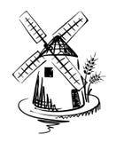 Moulin à vent illustration stock