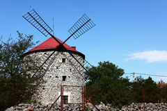 Moulin à vent Photographie stock