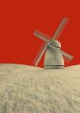 Moulin à vent Photographie stock