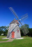 Moulin à vent Cape Cod, le Massachusetts, Etats-Unis d'Eastham photos stock