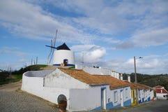 Moulin à vent d'Odeceixe Images libres de droits