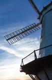 Moulin à vent d'Upminster au coucher du soleil Image libre de droits