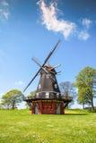 Moulin à vent dans la forteresse de Kastellet, Copenhague images libres de droits