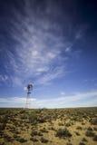 Moulin à vent dans le karoo photos libres de droits
