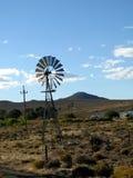 Moulin à vent dans le Karoo Images stock