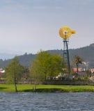 Moulin à vent dans Ponte De Lima Photos stock