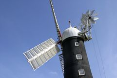 Moulin à vent de 6955 Skidby près de coque, Humberside, Angleterre Images stock