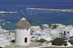 Moulin à vent de Bonis Images libres de droits