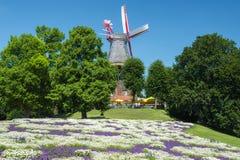 Moulin à vent de Brême Image libre de droits