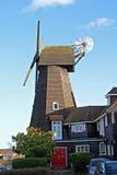 Moulin à vent de chemise de Whitstable Image libre de droits