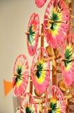 Moulin à vent de Colorfull photos stock