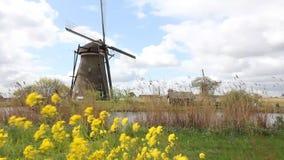 Moulin à vent de Kinderdijk clips vidéos