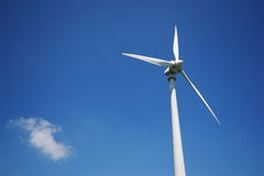 moulin à vent de nuage photos stock