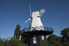 Moulin à vent de Rye dans la ville antique célèbre de Rye dans le Sussex est, Angleterre images libres de droits