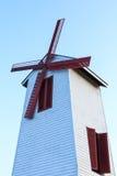 Moulin à vent de turbine ou turbine de vent Images stock