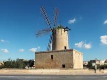 Moulin à vent de Zurrieq Photographie stock libre de droits