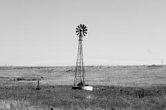 Moulin à vent du Kansas Images libres de droits
