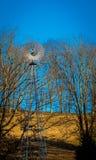 Moulin à vent en acier Images stock