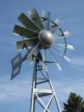 moulin à vent en acier Multi-à lames Image libre de droits