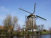 Moulin à vent en Hollandes Photo stock