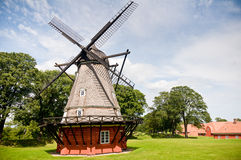 Moulin à vent historique Image libre de droits