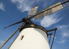 Moulin à vent historique dans Retz, Autriche Images libres de droits
