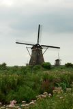 Moulin à vent hollandais Photos stock