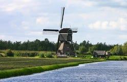 Moulin à vent hollandais Photographie stock