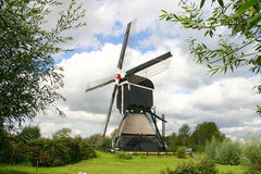 Moulin à vent hollandais Photo libre de droits