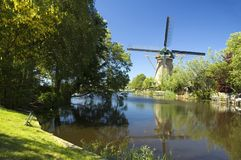Moulin à vent hollandais Image libre de droits