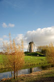 Moulin à vent, Hoofddorp, Hollande Image libre de droits