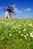 Moulin à vent II image libre de droits