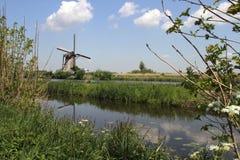 Moulin à vent néerlandais photographie stock libre de droits