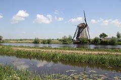 Moulin à vent néerlandais image libre de droits