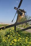 Moulin à vent néerlandais images libres de droits