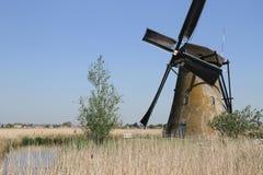 Moulin à vent néerlandais photographie stock