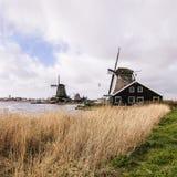 Moulin à vent néerlandais Images stock