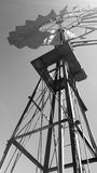 Moulin à vent près de Matjiesfontein, grand Karoo, Afrique du Sud Photographie stock libre de droits
