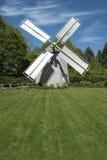 Moulin à vent sur la vieille morue de cap Images libres de droits