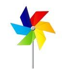 Moulin à vent Toy Vector Illustration Photographie stock