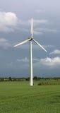 Moulin à vent, turbine de vent Photos libres de droits