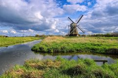 Moulin à vent Wedelfeld Photo stock