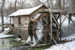 Moulin 2 de l'hiver Photographie stock