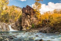 Moulin abandonné photographie stock libre de droits
