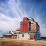 Moulin abandonné Image stock