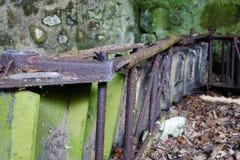 Moulin abandonné Images libres de droits