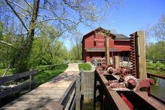 moulin antique de blé à moudre Photo libre de droits