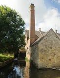 moulin antique de maison photo stock