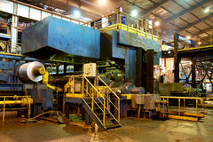 Moulin chaud en aluminium photo libre de droits