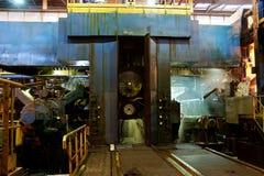 Moulin chaud en aluminium images stock